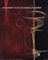 Dry Martini Fine Art Print