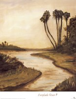 Everglade River II Framed Print