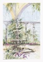 Crystal Pavilion I Fine Art Print