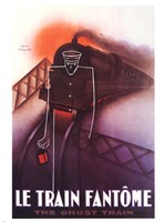 Le Train Fantome Fine Art Print