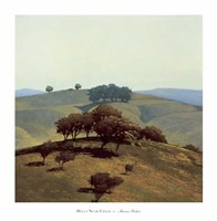 Hills Near Chico Fine Art Print