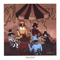 Ladies at Lunch Fine Art Print