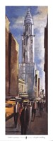 Chrysler Building - street view Fine Art Print