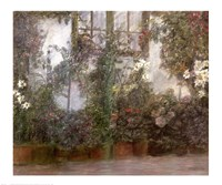 Jardin dans la Ville Fine Art Print