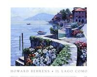 Il Lago Como Framed Print
