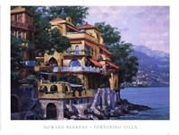 Portofino Villa Framed Print