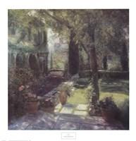 Garden for Marcel Proust Framed Print