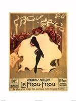 Le Frou-Frou, c.1900 Framed Print