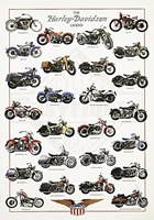The Harley-Davidson Legend Framed Print
