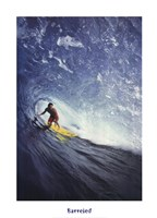 Barreled, North Shore Oahu, HI Fine Art Print