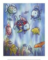 The Rainbow Fish III Framed Print