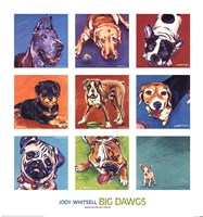 Big Dawgs Framed Print