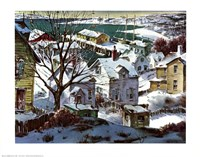 Winter Harbor Fine Art Print