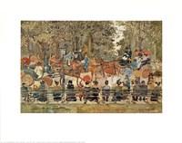 Central Park, 1901 Fine Art Print