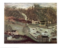 Coryell's Ferry 1776 Fine Art Print
