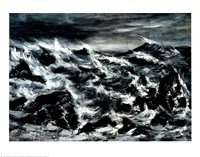 Stormy Waters Fine Art Print