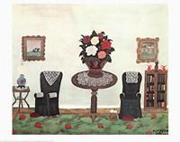 Victorian Interior Fine Art Print