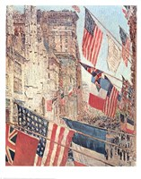 Allies Day May 1917 Fine Art Print