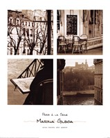 Paris A La Seine. Fine Art Print