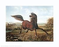 Neigh of an Iron Horse Fine Art Print
