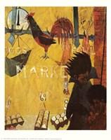 Poultry Market Fine Art Print