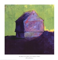 The Haunting Magic of an American Barn I Fine Art Print