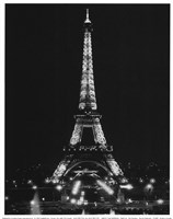 Paris By Night Fine Art Print