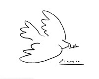 Dove of Peace Fine Art Print