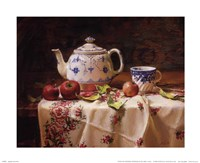 Apples and Tea Fine Art Print
