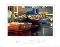 Spree at the Dock Fine Art Print
