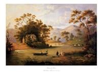 Boating On The Hudson Fine Art Print