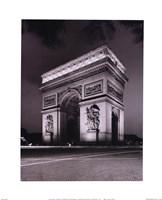 Arc de Triomphe Framed Print