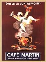 Cafe Martin Fine Art Print