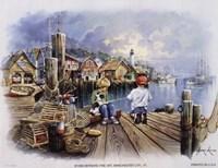 Fishing Docks Fine Art Print