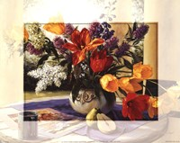 Bordered Floral Fine Art Print