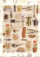 Grandpa's Potting Shed Fine Art Print