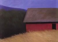 The LaCross Barn Fine Art Print