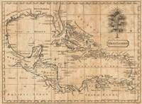 Caribbean 1806 Fine Art Print