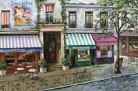 Rue Des Maisons Fine Art Print