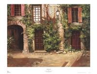 Villa Frascati Framed Print