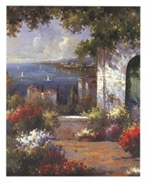 View Through The Arch Fine Art Print