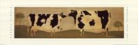Kissing Cows Fine Art Print