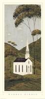 Country Panel I - Church Fine Art Print