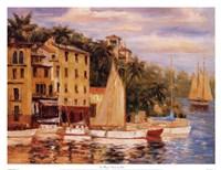 San Miguel Harbor Fine Art Print