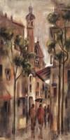 Rue Amelie Framed Print