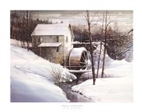 Mill Stream Framed Print