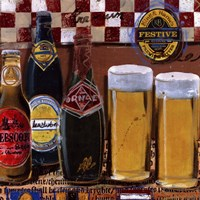 Beer and Ale III Framed Print