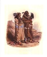 Mandan Indians Fine Art Print