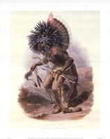 Hidaba Warriornorth America Fine Art Print
