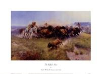 The Buffalo Hunt Fine Art Print